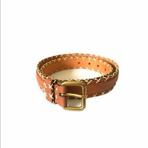 100% Genuine French Leather Made in France Belt